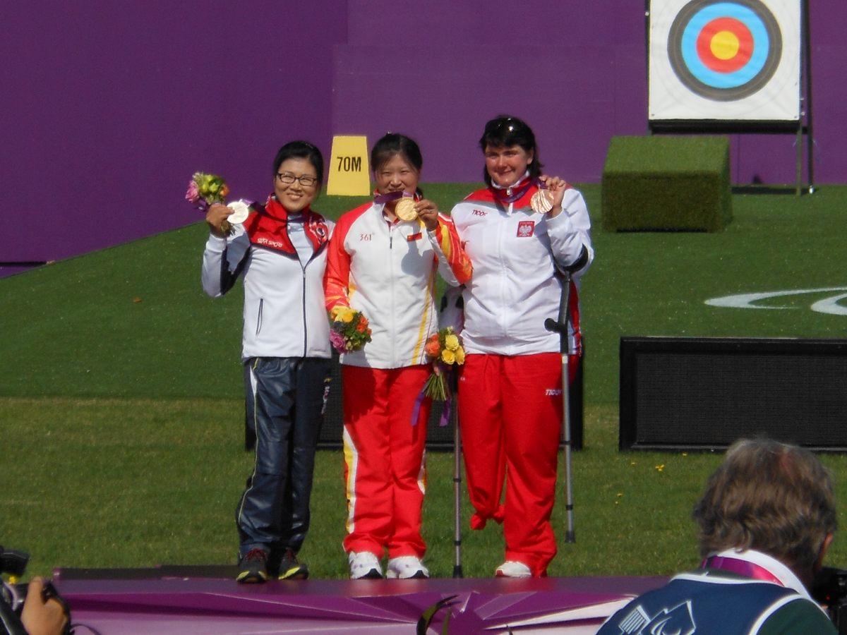 Milena Olszewska podczas Igrzysk