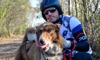 Waldemar Stawowczyk z psem