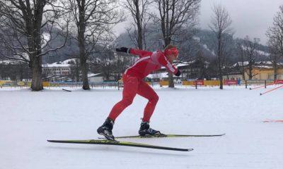 Witold Skupień podczas biegu