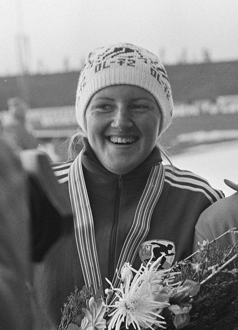 Erwina Ryś-Ferens w 1975 roku