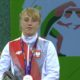 Katarzyna Krawczyk na podium