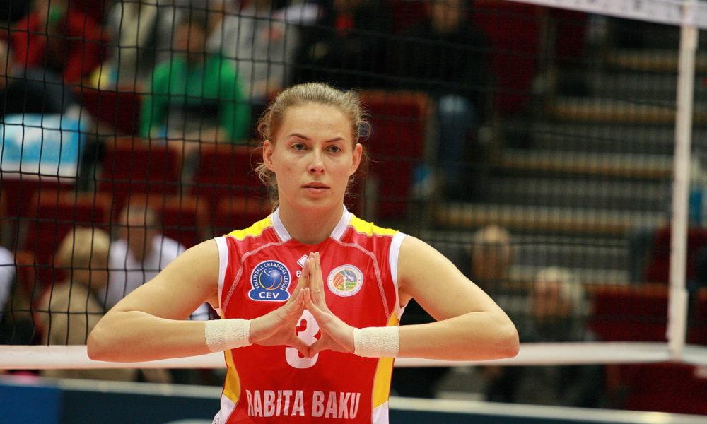 Katarzyna Skorupa podczas meczu