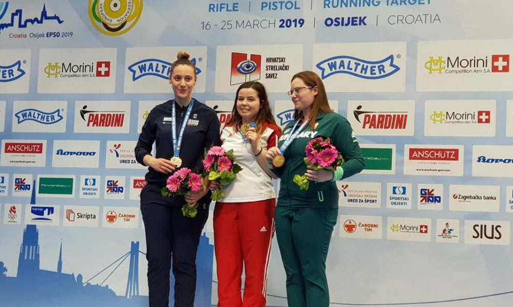 Klaudia Breś na podium