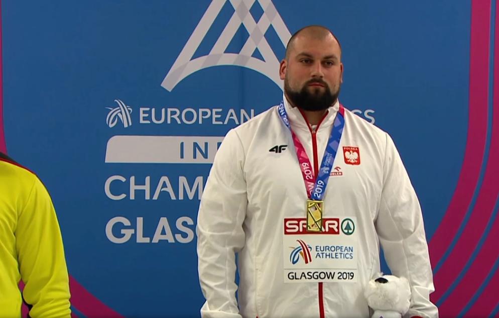 Michał Haratyk i halowe mistrzostwa Europy w Glasgow