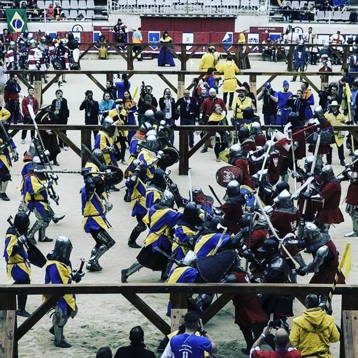 sportowe walki rycerskie