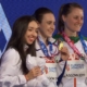 Sofia Ennaoui z medalem