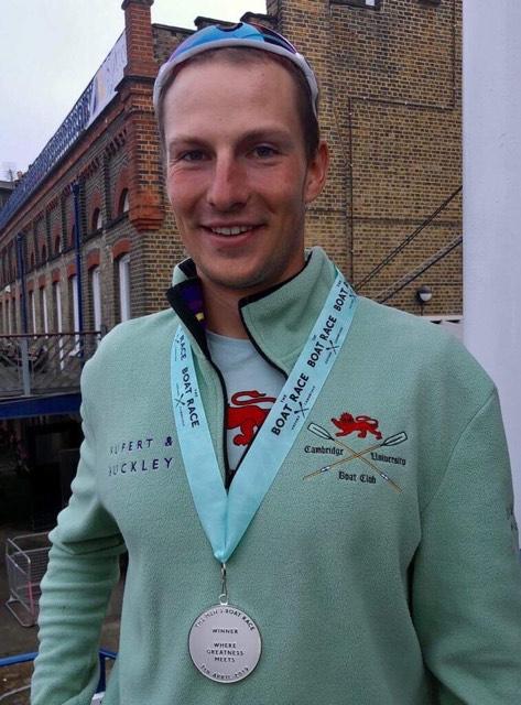 Natan Węgrzycki-Szymczyk z medalem