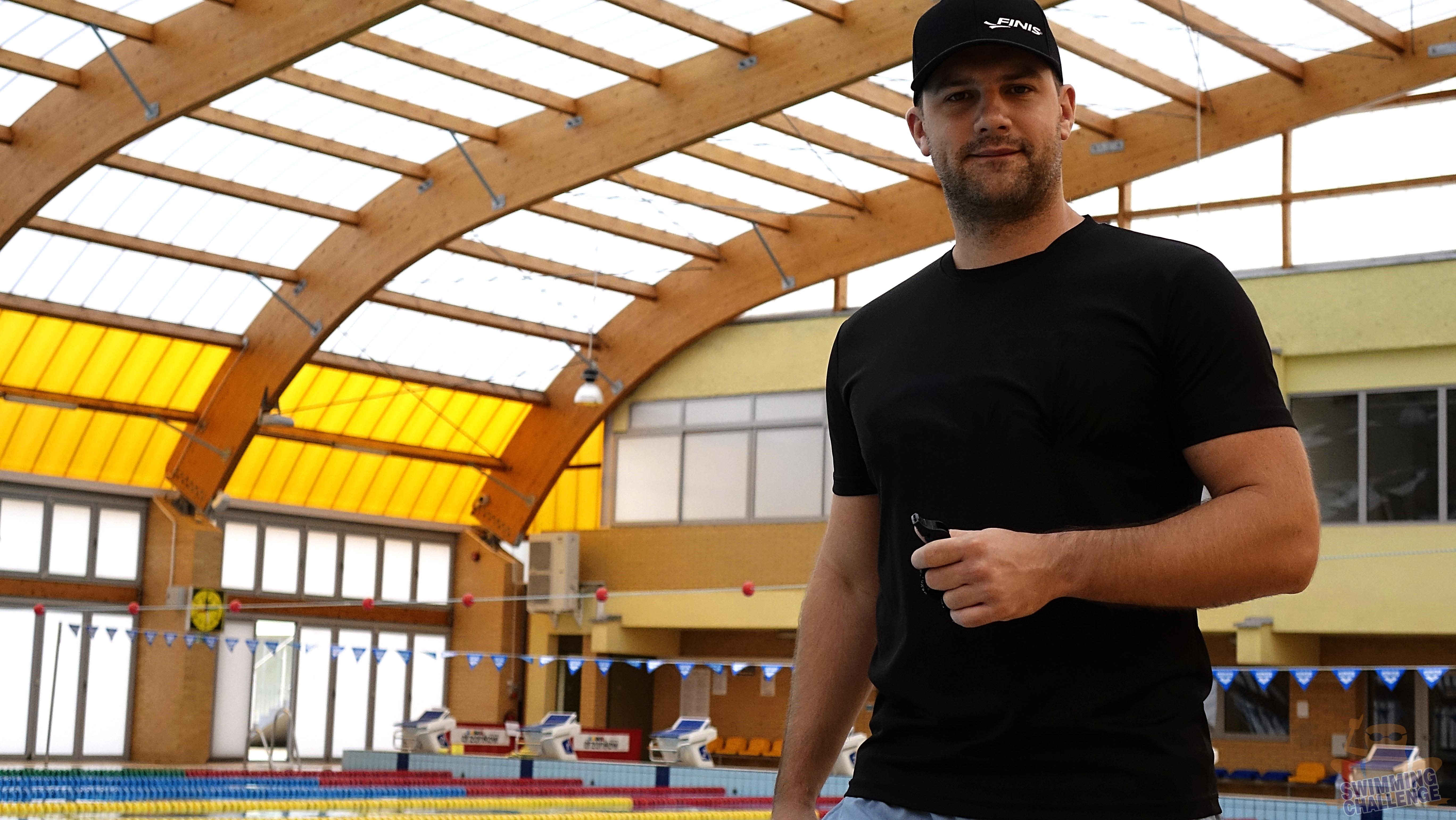Sławomir Kuczko na treningu