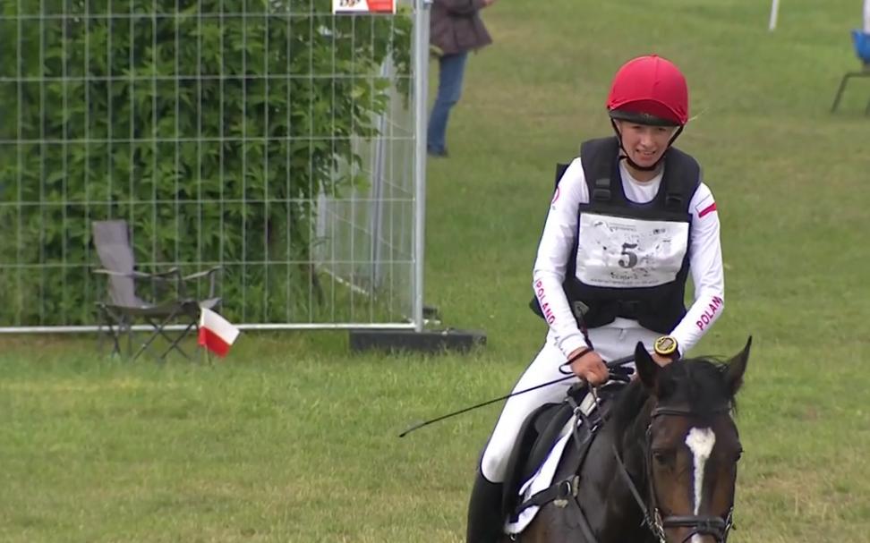 Joanna Pawlak na koniu