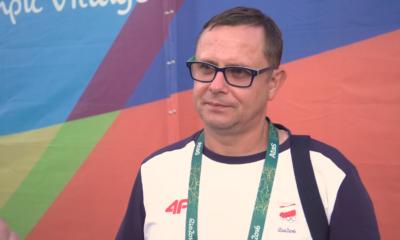 Paweł Słomiński przed kamerami