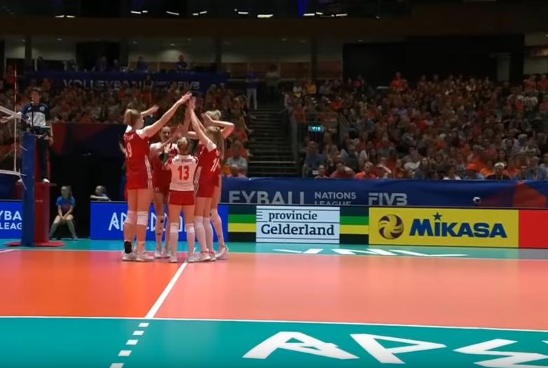 Polska - Holandia, Magdalena Stysiak i polskie siatkarki