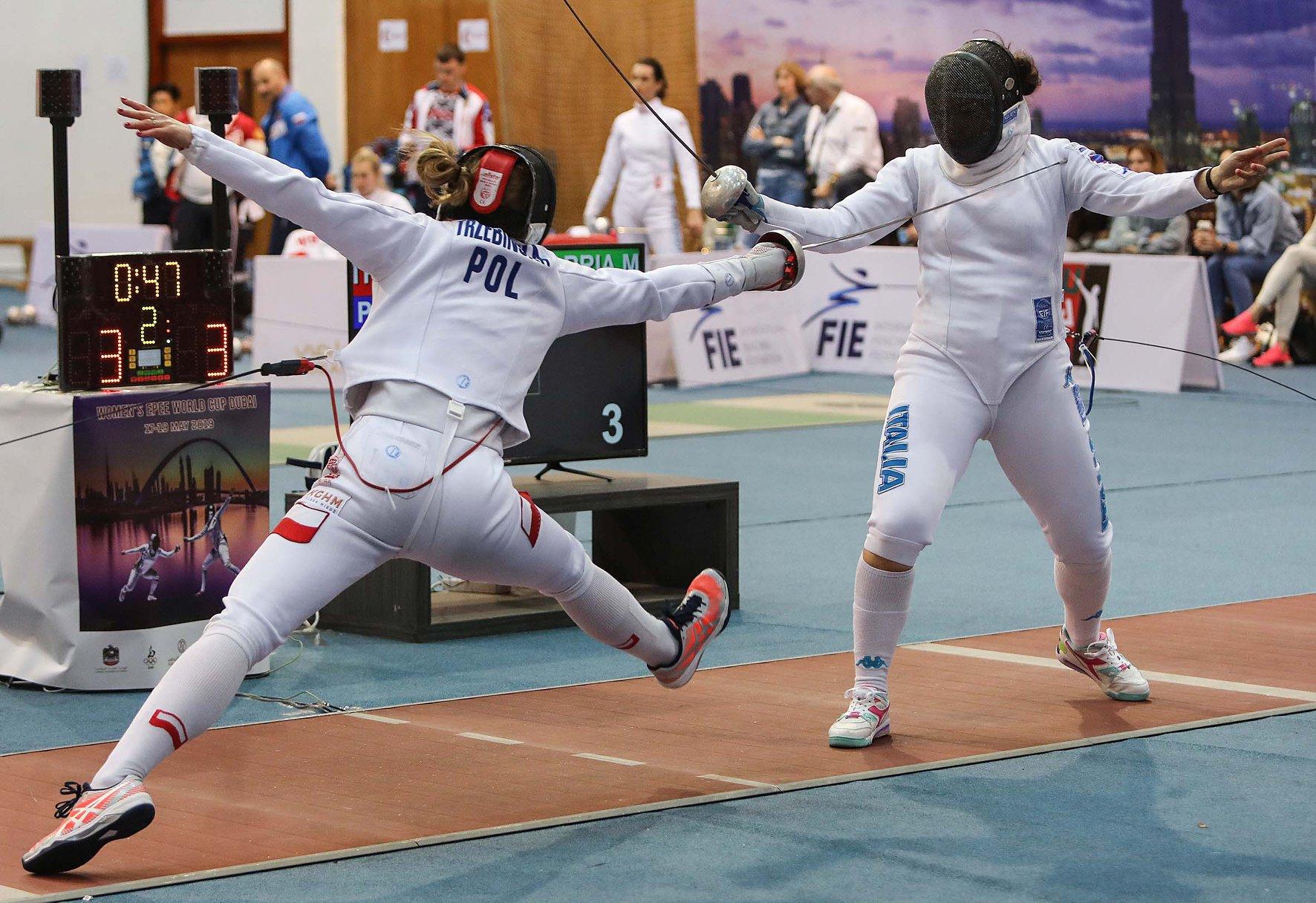 Ewa Trzebińska walczy w półfinale