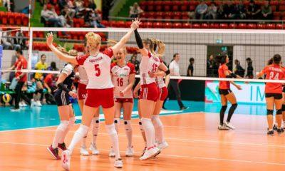 Siatkarki w finale Montreux Volley