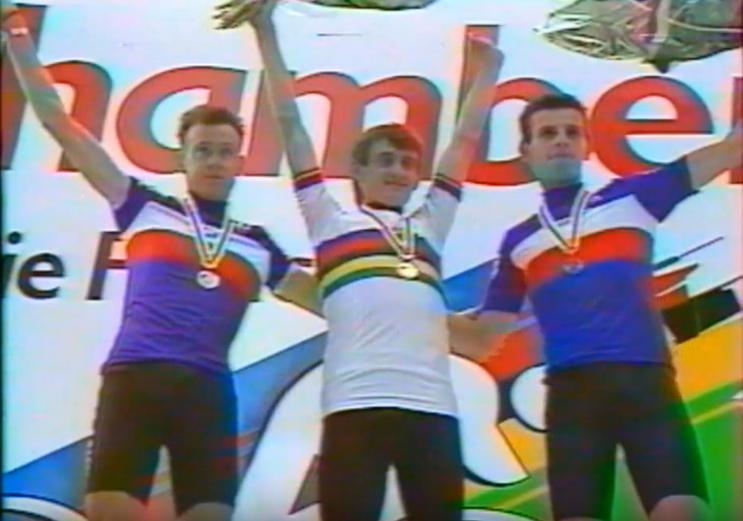 Joachim Halupczok na mistrzostwach świata 1989