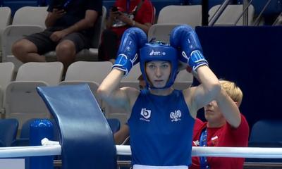 Karolina Koszewska podczas Igrzysk Europejskich w Mińsku