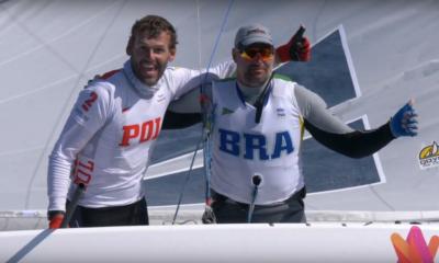 Mateusz Kusznierewicz wraz z Bruno Prada
