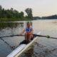 Weronika Deresz w łódce