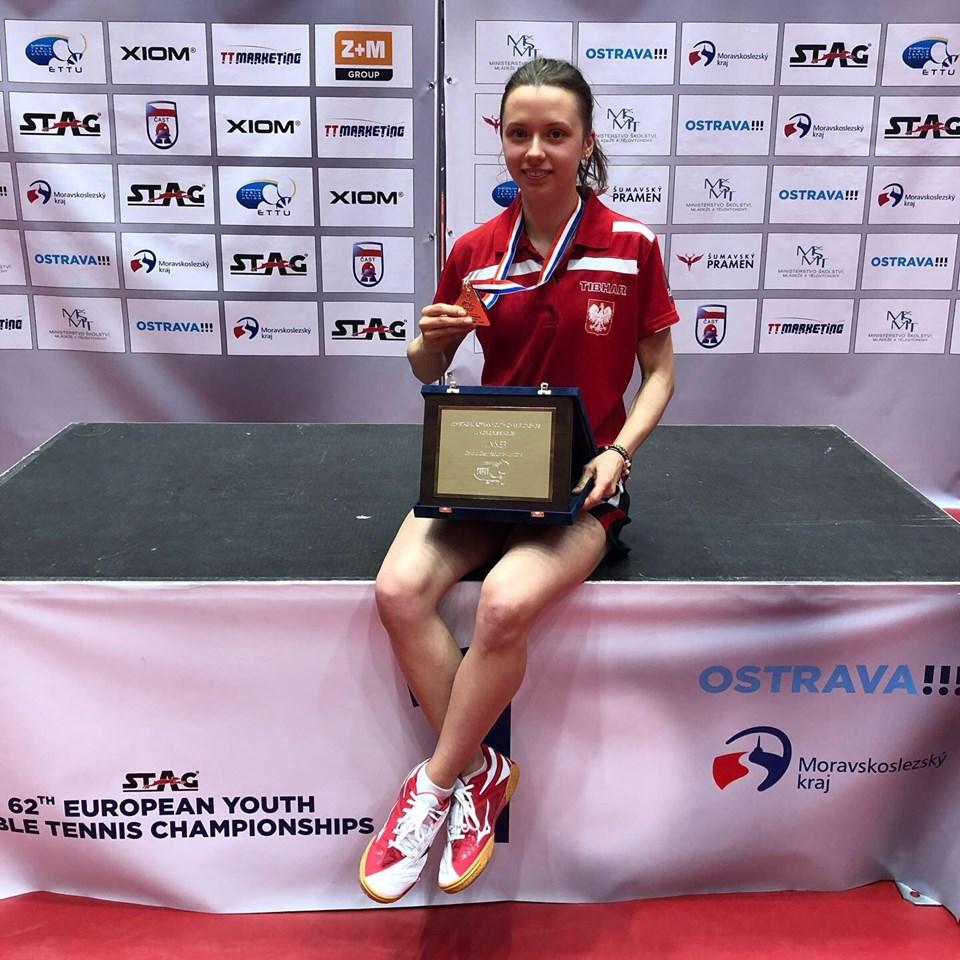 Anna Węgrzyn ze złotem