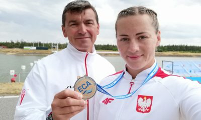 Dorota Borowska z medalem MME
