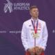 Mateusz Borkowski na podium MME
