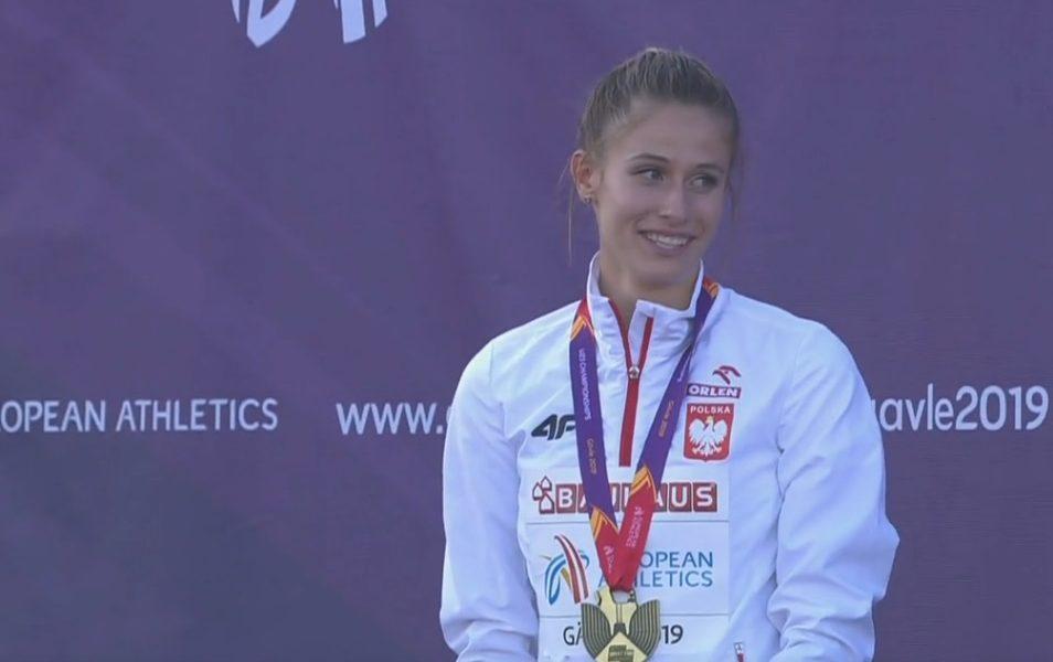 Natalia Kaczmarek ze złotem