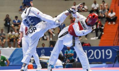 Patrycja Adamkiewicz podczas półfinałowej walki