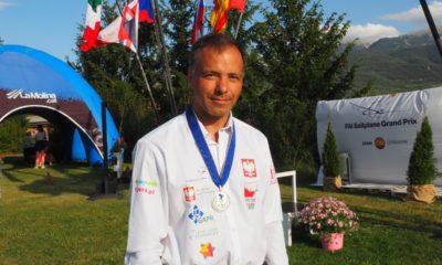 Sebastian Kawa z medalem