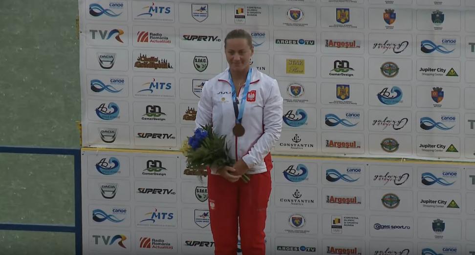 Dorota Borowska ze złotem
