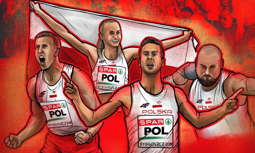 Polscy lekkoatleci podbili Bydgoszcz