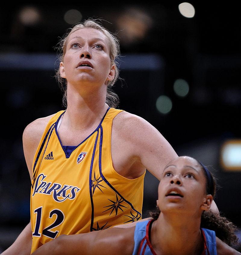 Małgorzata Dydek w WNBA