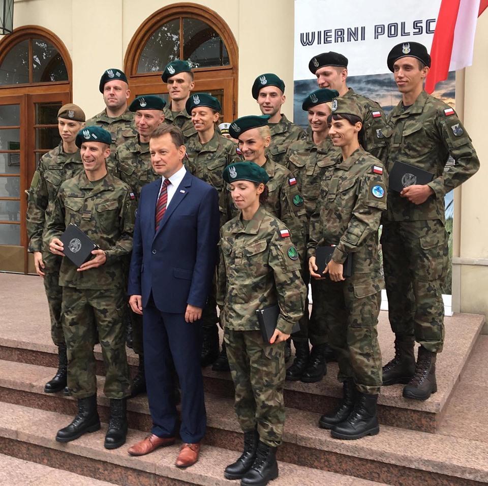 Sportowcy w wojsku polskim