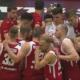 Polscy koszykarze - Michał Sokołowski, Aaron Cel, Michała Ponitki i A.J. Slaughter