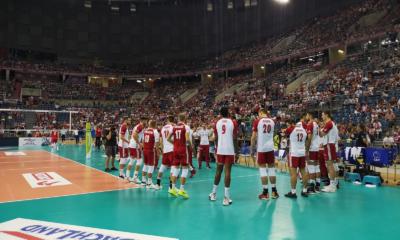 Michał Kubiak wraz z reprezentacją Polski podczas Memoriału Huberta Wagnera, Finlandia pokonana
