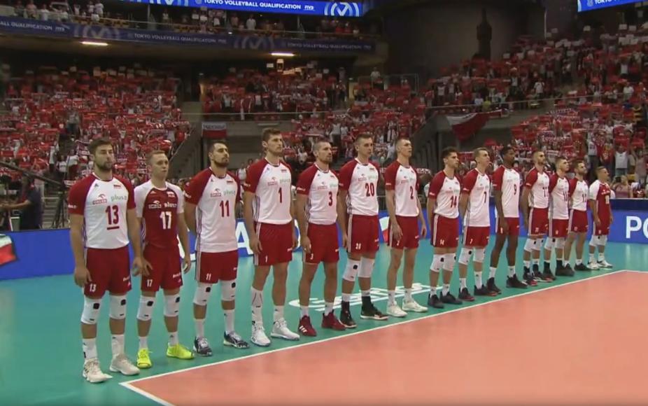 Polscy siatkarze: Dawid Konarski, Karol Kłos, Michał Kubiak