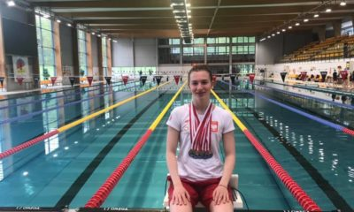 Julia Chmielewska z medalami
