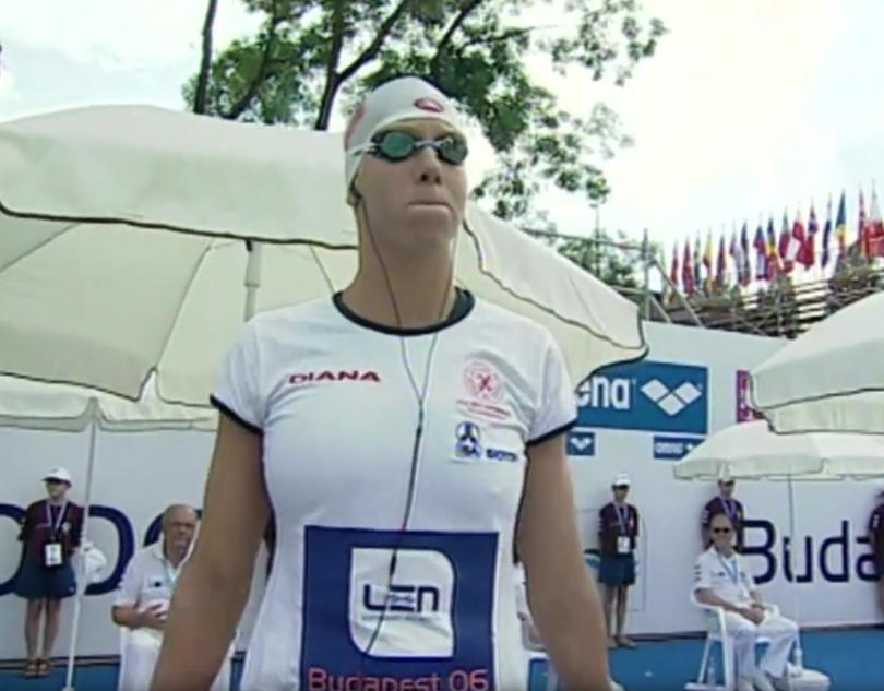 Katarzyna Baranowska w Budapeszcie