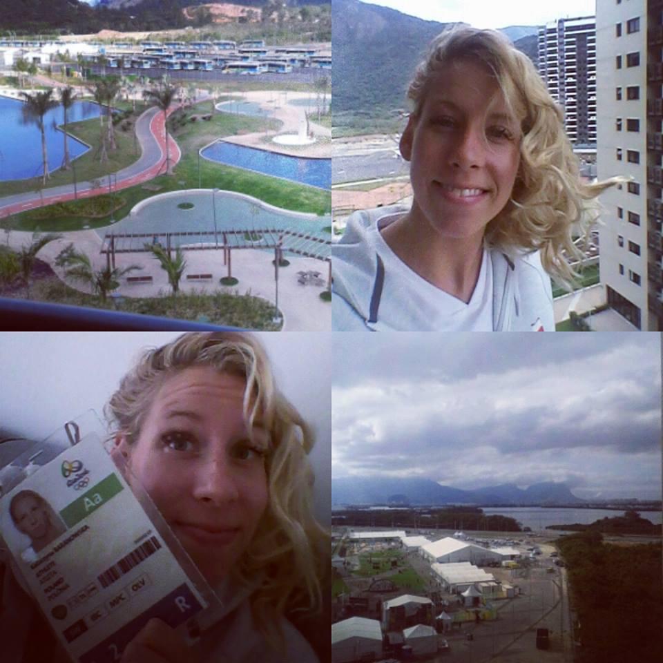 Katarzyna Baranowska w Rio de Janeiro