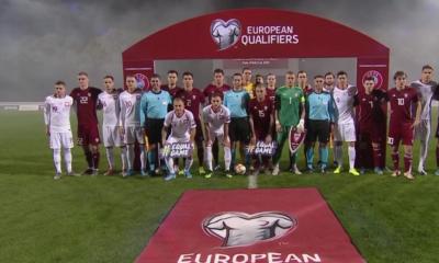Mecz Polski z Łotwą