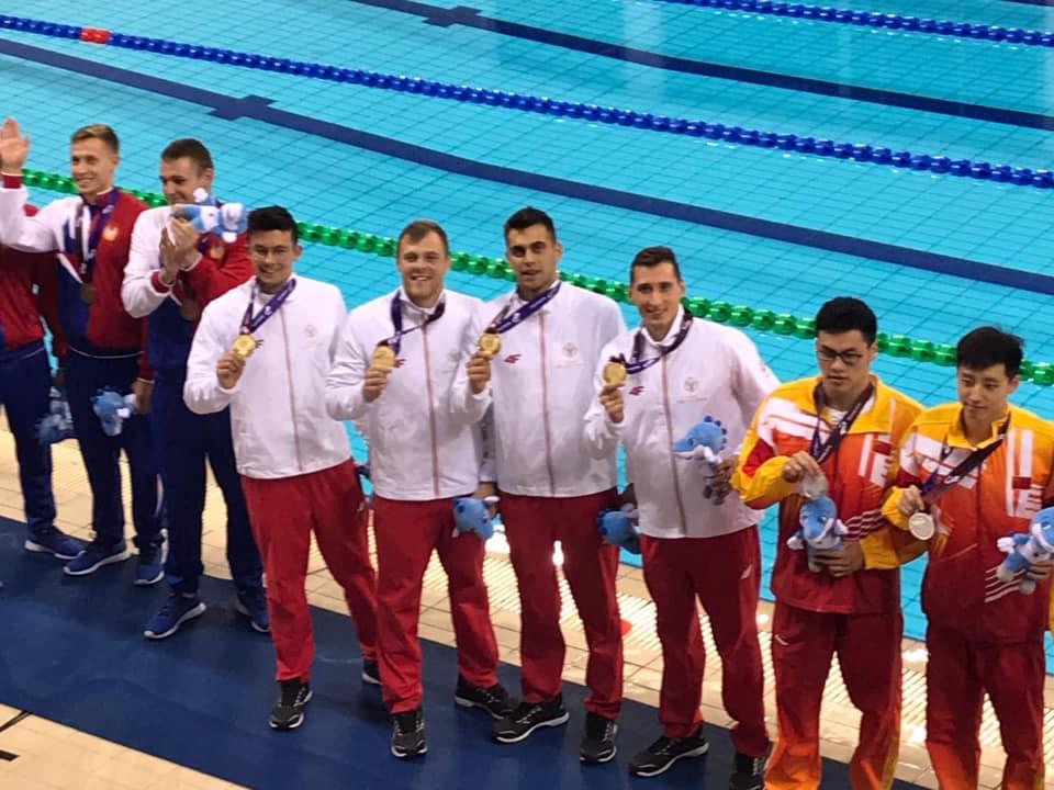 Polscy żołnierze: Wojciech Kotowski, Adam Dubiel, Bartosz Stanilewicz i Hubert Nakielski, a także Jaromir Wojtasiewicz