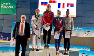 Aleksandra Kowalczuk na podium