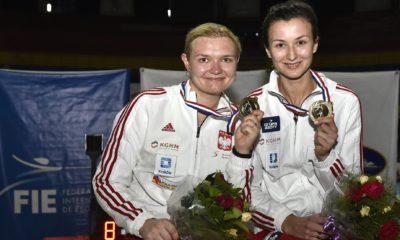 Aleksandra Zamachowska i Renata Knapik-Miazga