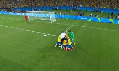 Brazylijczycy celebrują złoto